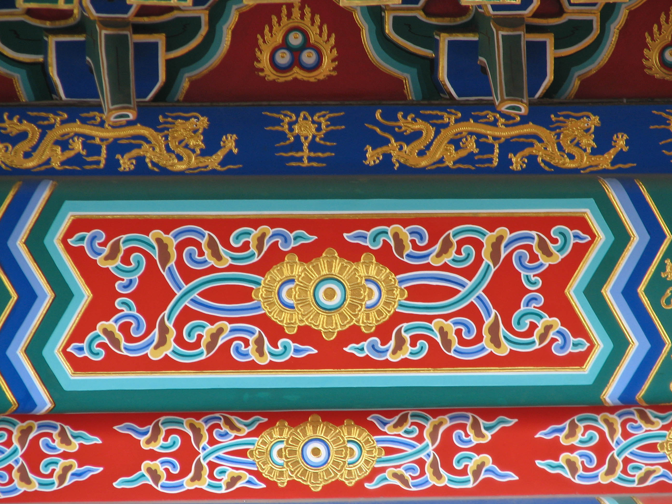 The Forbidden City Architectural Details