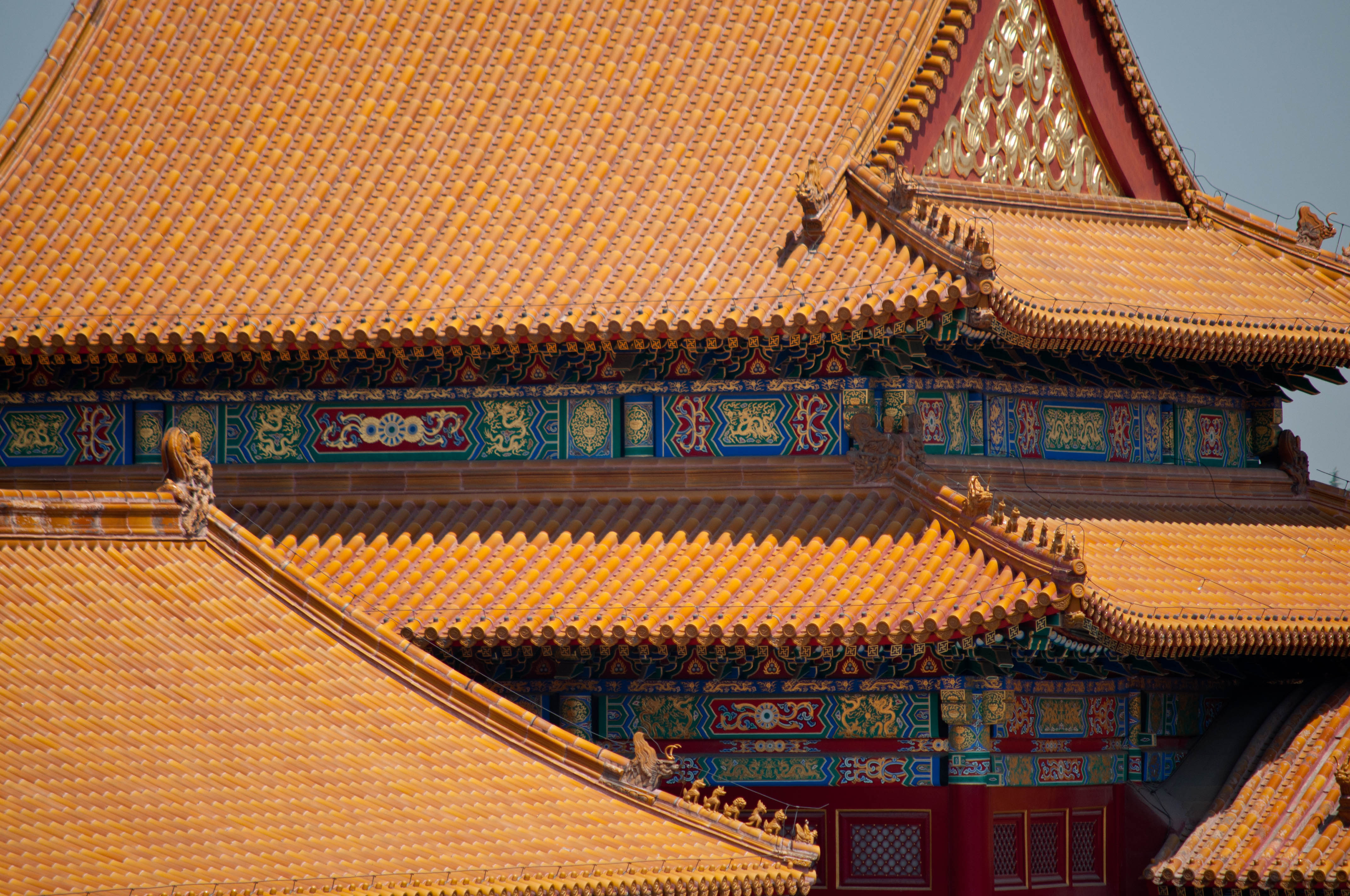 the forbidden city architectural details into the middle kingdom