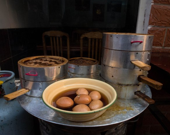 Hard boiled eggs, Chinese style
