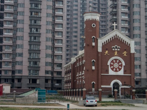 Catholic church in Tianjin