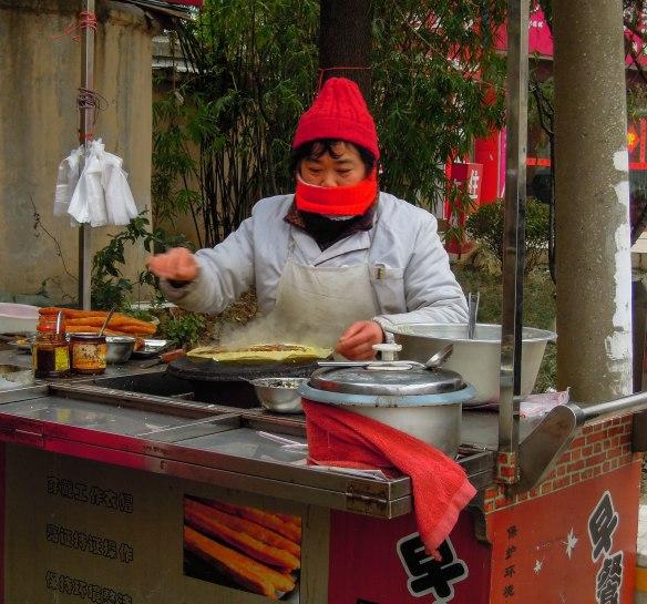 煎饼 jiānbing