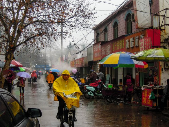 Rainy day in Huai'an