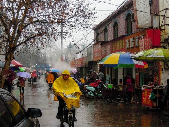 Rainy day in Huai'an