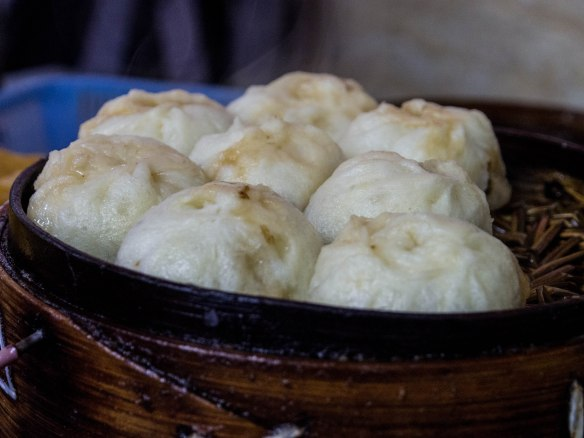 素包子 Vegetarian steamed dumpling