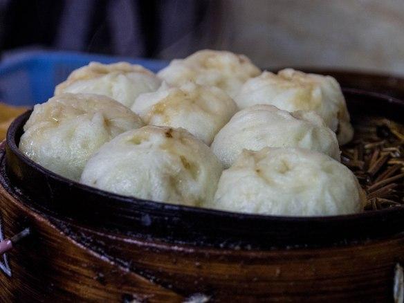 素包子 Vegetarian steamed dumpling