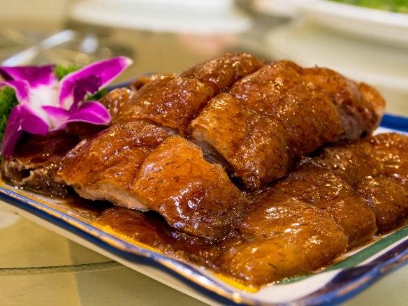 世纪深井烤鹅 shìjì shēnjǐng kǎo é (Century deep well roasted goose)