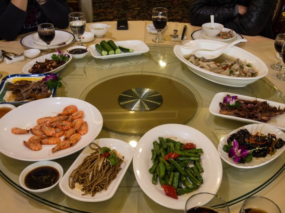Seafood lunch in Tianjin