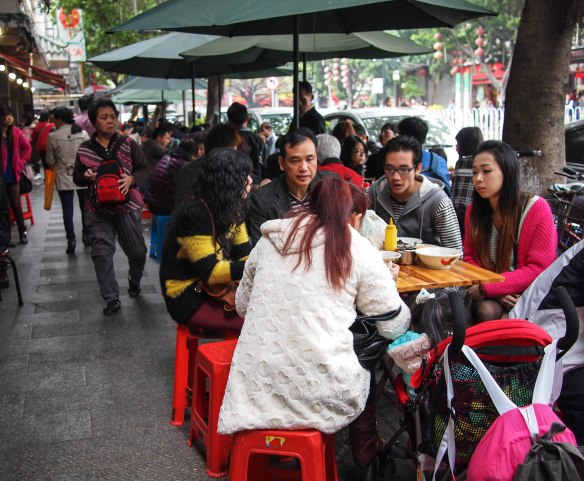 Eating is THE social activity in Guangzhou
