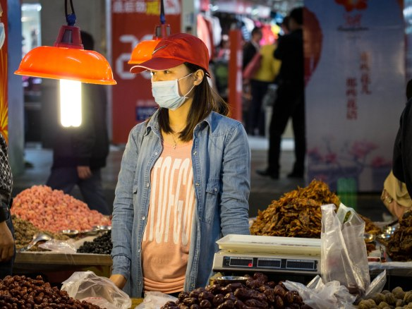Dried seafood is a very popular snack in Guangzhou, especially squid.