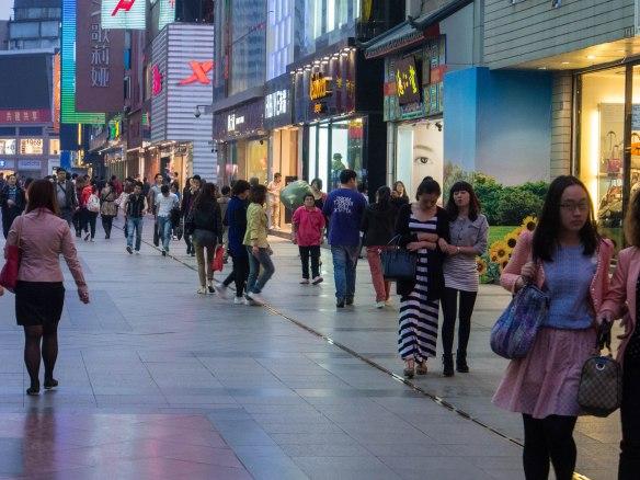 Shopping in Chengdu