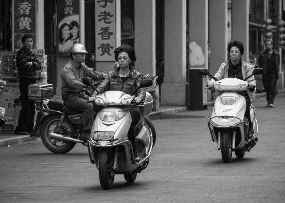 Scooter ladies