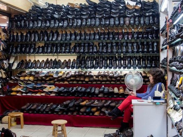 Boring men's shoes