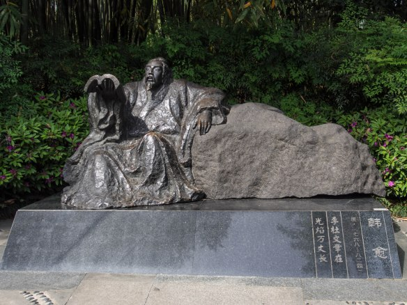 The Tang poet, Han Yu