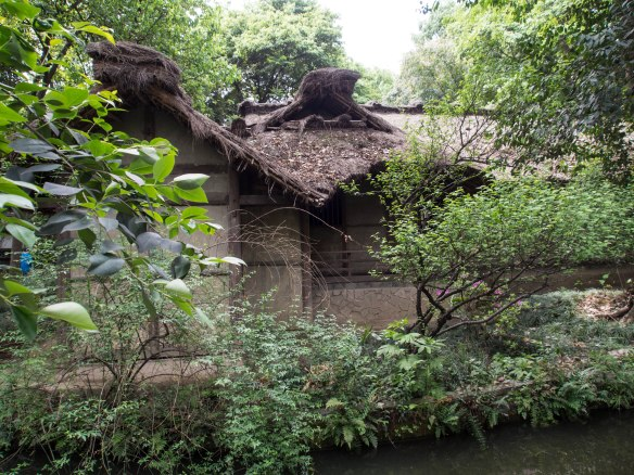 Replication of Du Fu's Thatched Cottage