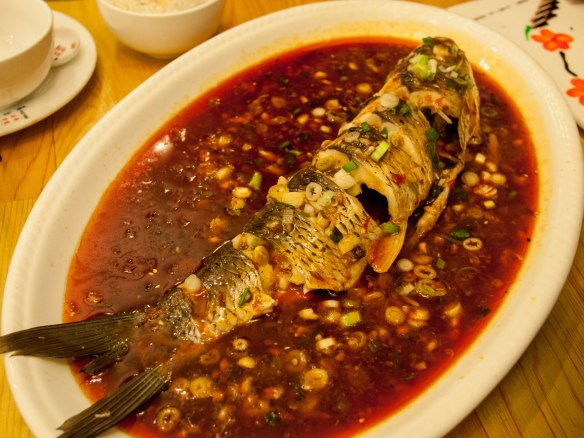 A type of sweet and spicy fish.