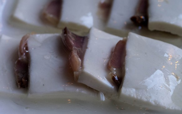 Yunnan ham with cheese.